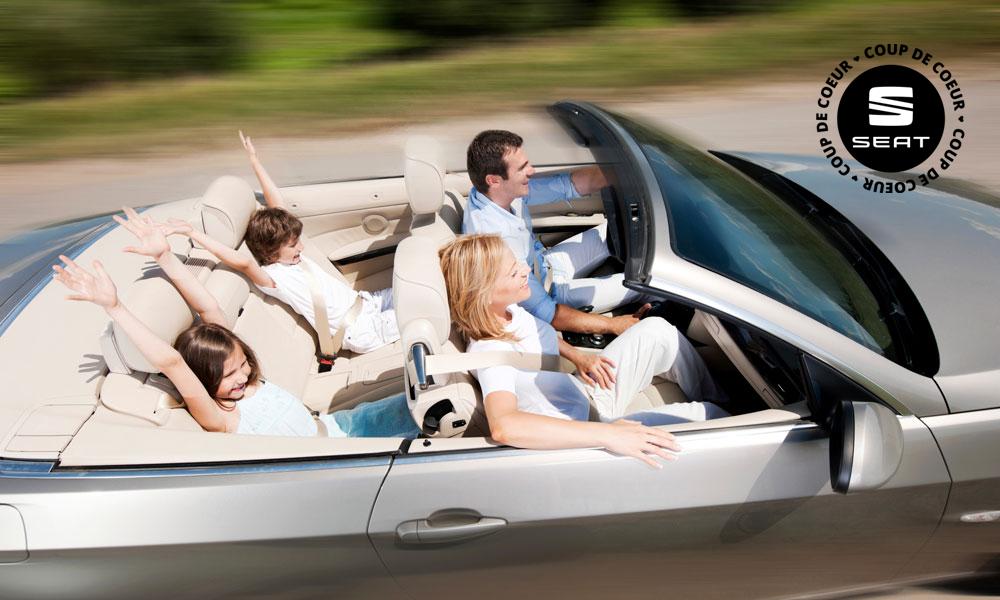 Partez en vacances avec la voiture de location à 1 euro