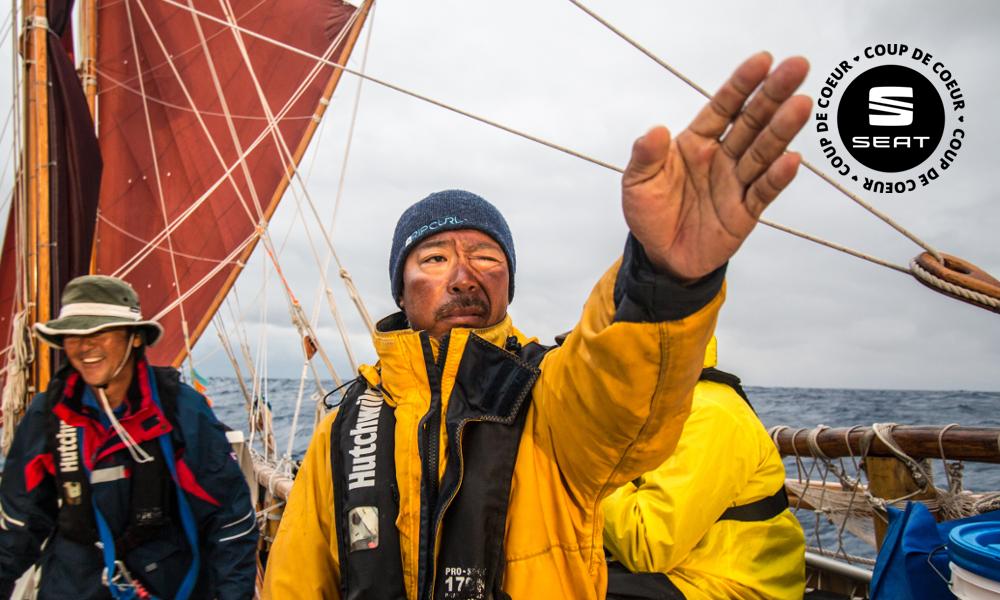Il fait le tour du monde en pirogue pour sauver les océans