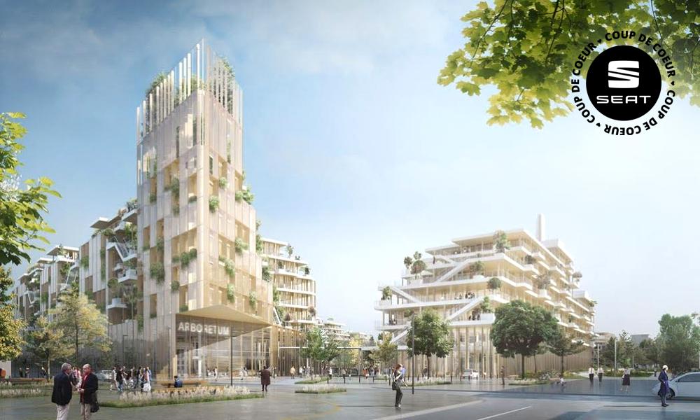 Le plus grand complexe de bureaux en bois va pousser à Paris