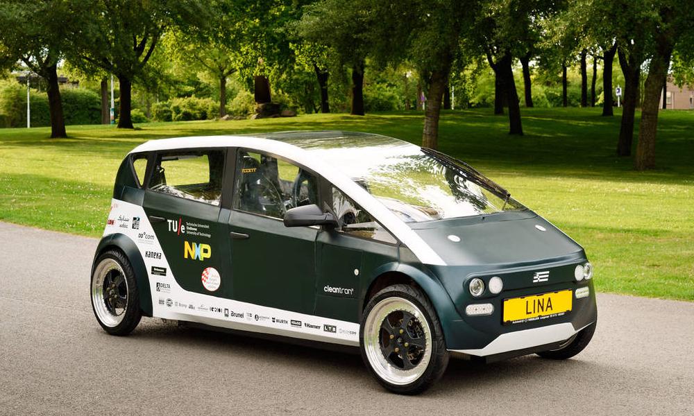 Des étudiants ont construit la première voiture biodégradable