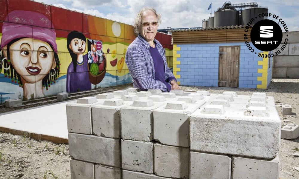 Construisez votre maison comme des LEGO grâce à cet Hollandais !