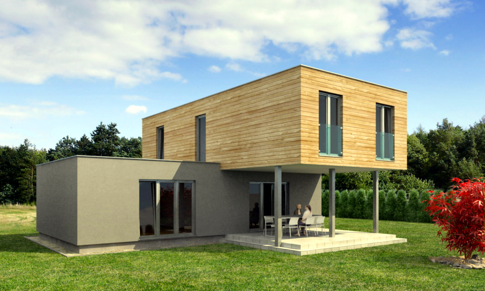 Maison containers moderne