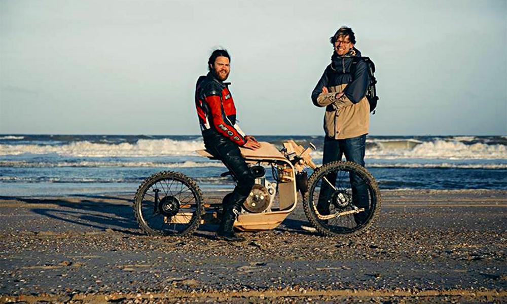 Donnez des algues et du bois à ces Hollandais, ils en feront une moto