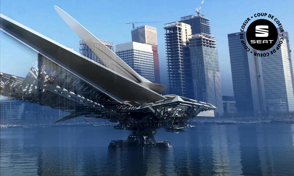 C'est quoi ça, un dragon métallique ? Non : un pont mobile