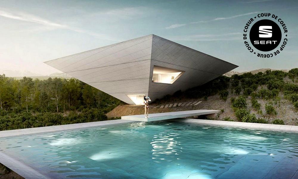 Deux architectes japonais inventent une maison-pyramide… à l'envers