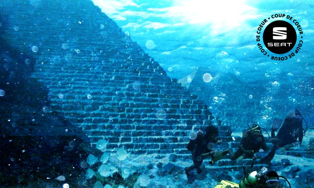 Et si vous partiez visiter une pyramide… sous-marine !