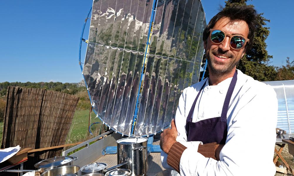 Détours par le premier resto solaire de France