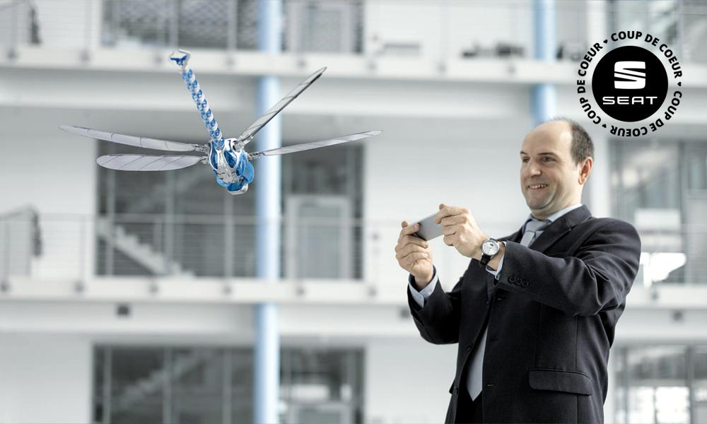Ils ont inventé des robots volants qui n'auront jamais d'accident