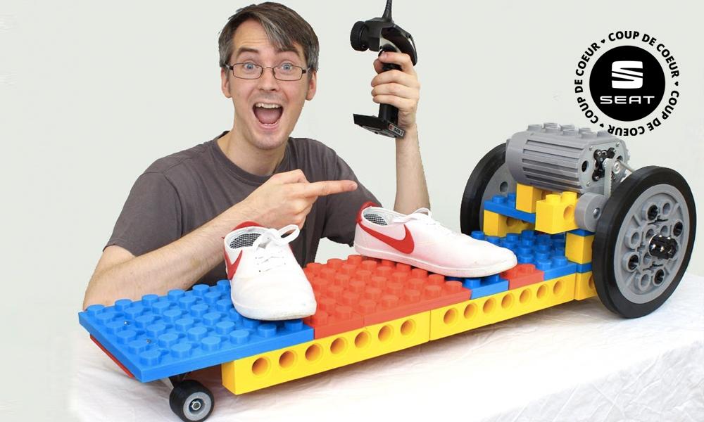 Construisez votre skate électrique... en LEGO