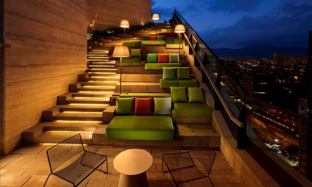 Skypark terrasse