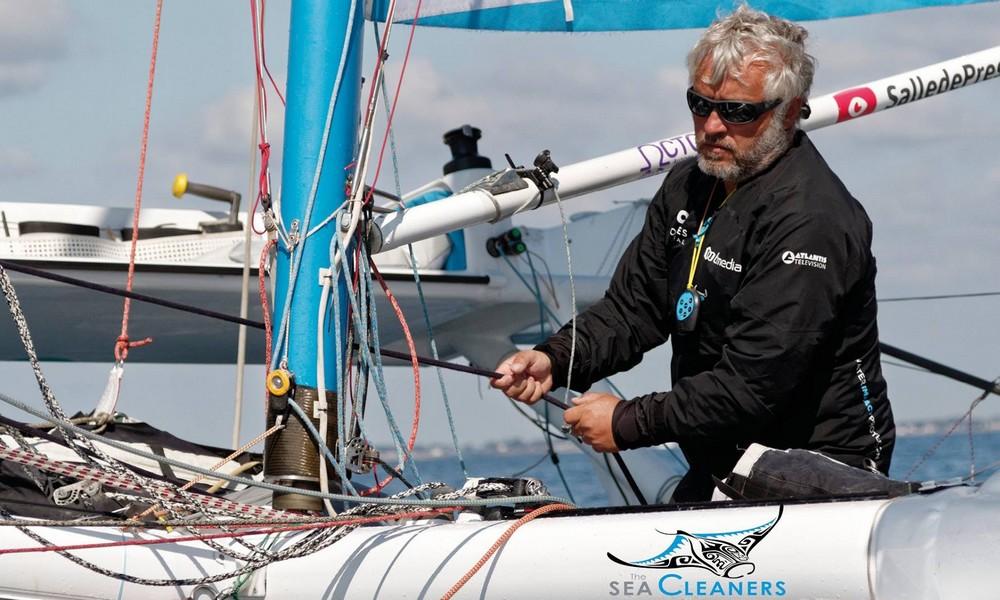 Yvan : navigateur champion et concepteur de voilier dépollueur