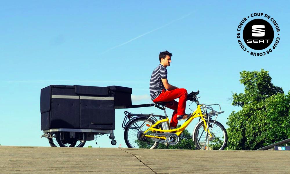 Cette remorque électrique va transporter autant qu'un camion, mais sans polluer