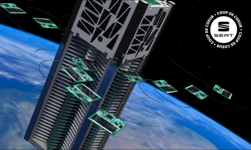 L'avenir de l'exploration spatiale ? Cette flotte de mini-satellites