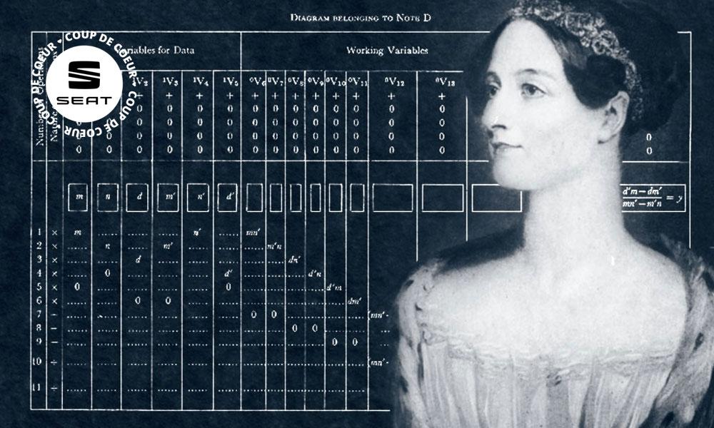 Quand une femme inventait le code informatique... en 1843
