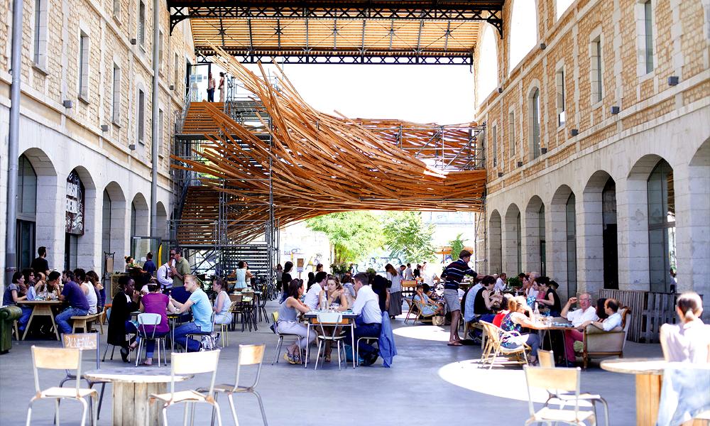 Bienvenue chez Darwin, l'éco-quartier qui veut secouer Bordeaux
