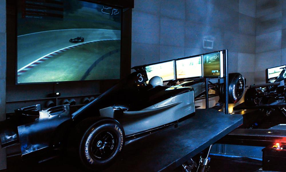Détour par I-Way, un simulateur de sports mécaniques