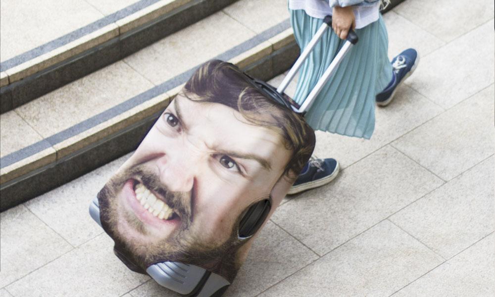 Solution contre les vols : une valise qui vous ressemble