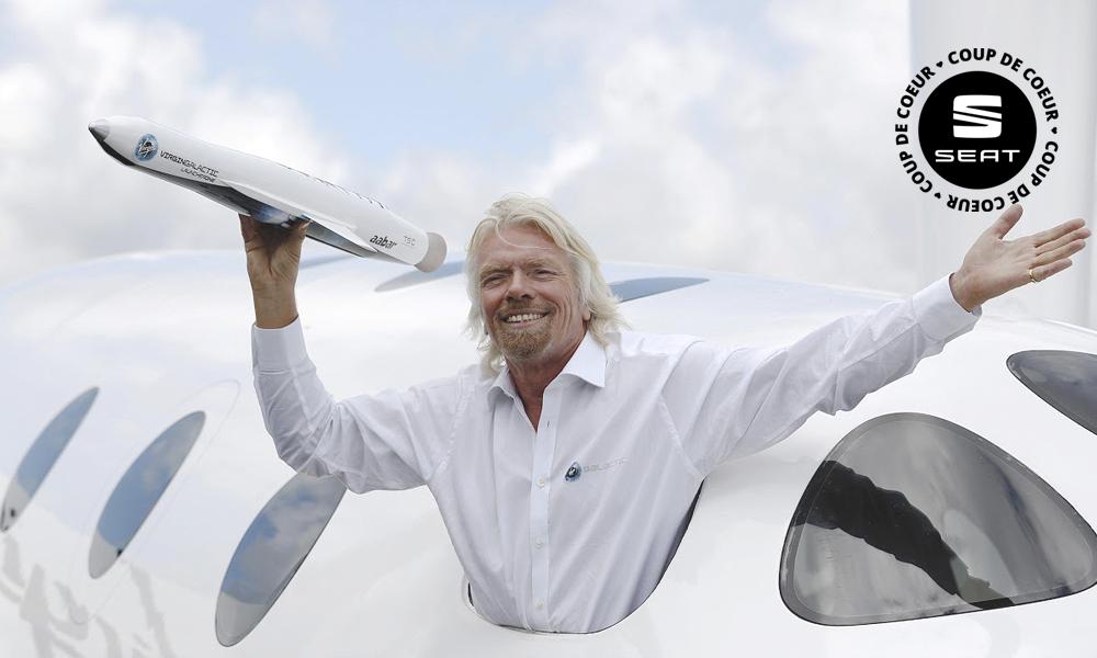 La réussite selon Richard Branson : travailler moins, rêver plus