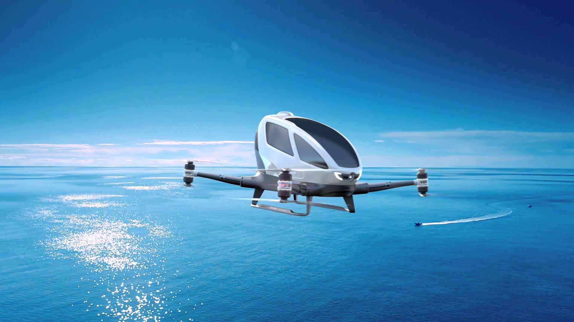 Cinq preuves que le transport             de 2030 est un drone sans pilote