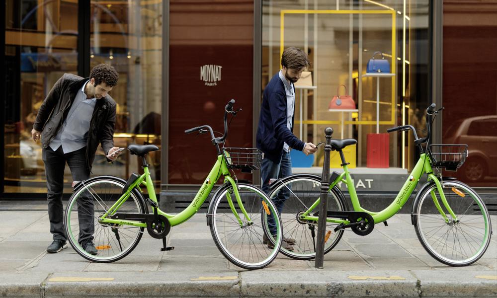 RIP les Velib : des vélos à emprunter et déposer n'importe où débarquent à Paris