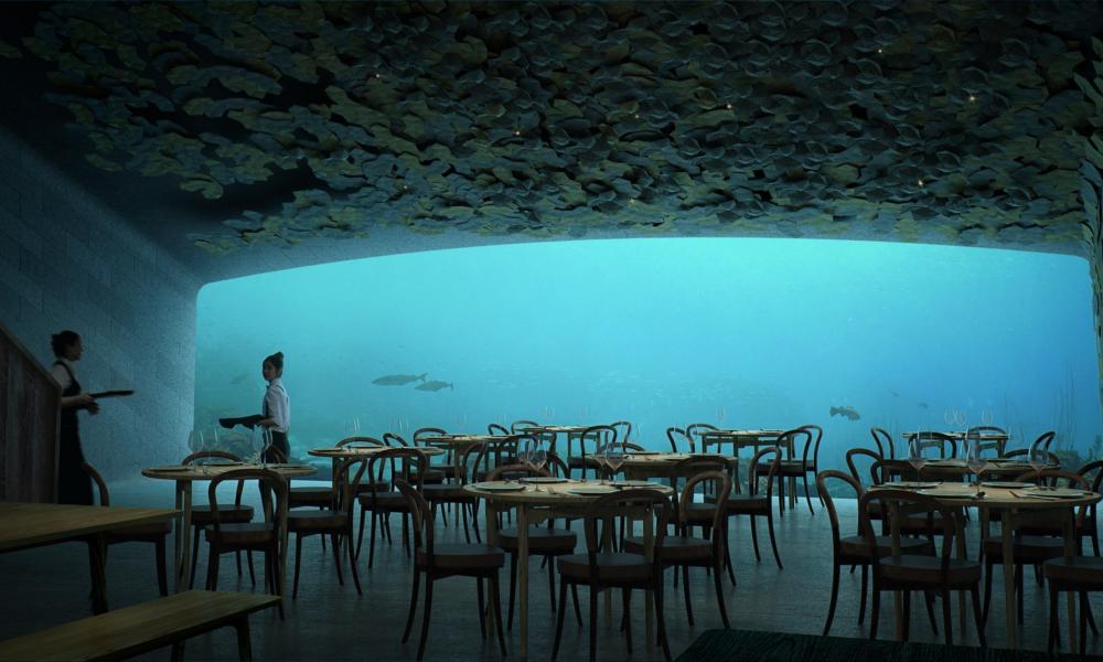 Avec ce restaurant sous-marin, la Norvège invente la gastronomie nouvelle vague