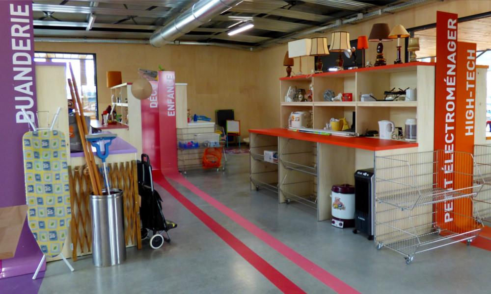 A Bordeaux, un supermarché où tout est gratuit