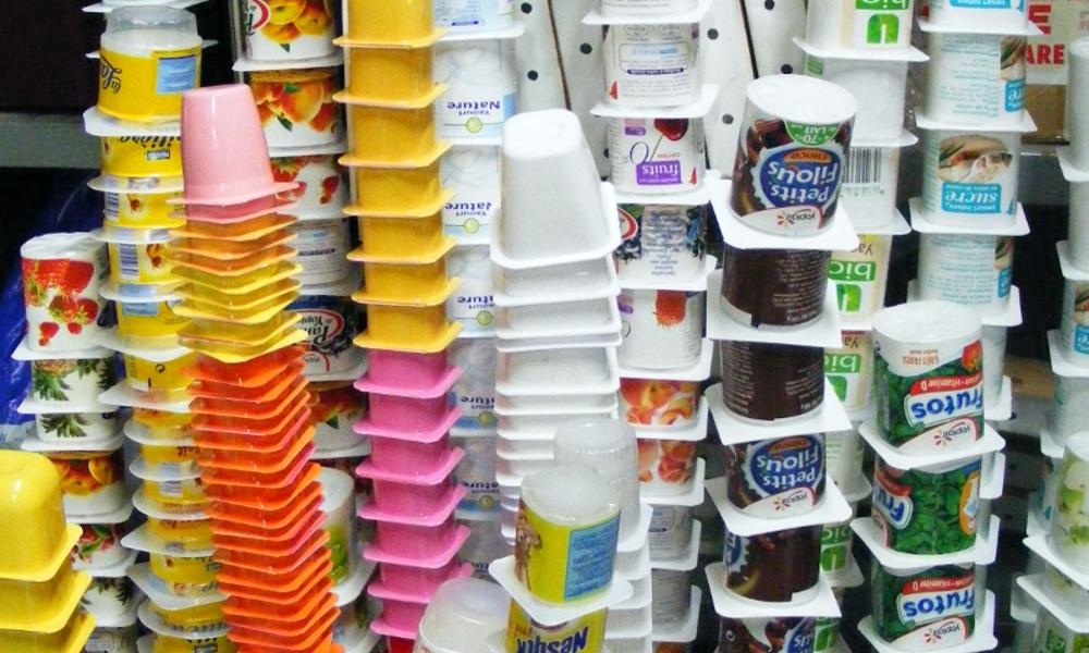 Pourquoi ne recycle-t-on pas les pots de yaourt ?