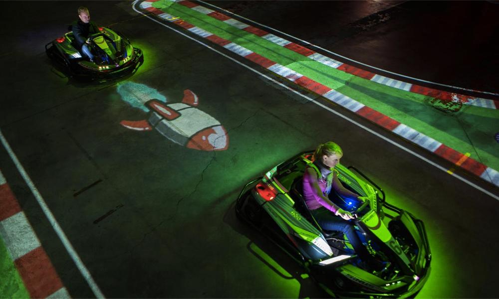 Détour par un circuit de kart… en réalité augmentée
