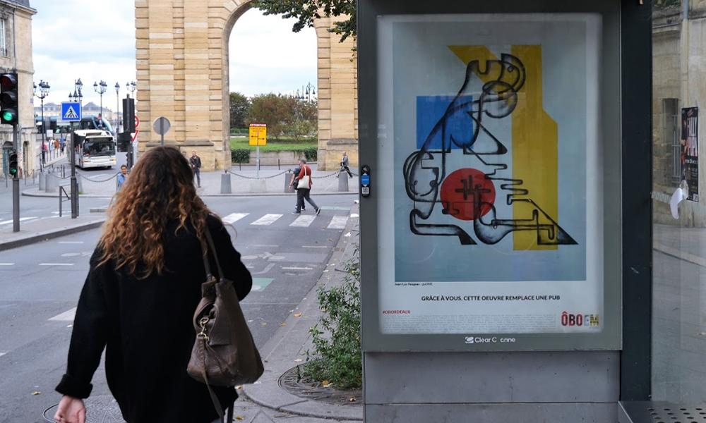 Remplacer la pub par de l'art : ça se passe à Bordeaux