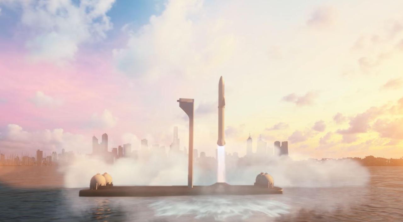 Une fusée pour faire Paris-New York en 30 minutes
