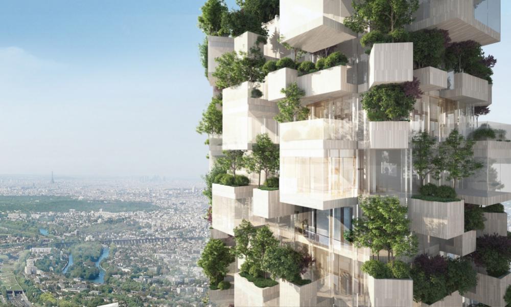 Près de Paris, un immeuble-forêt va sortir de terre
