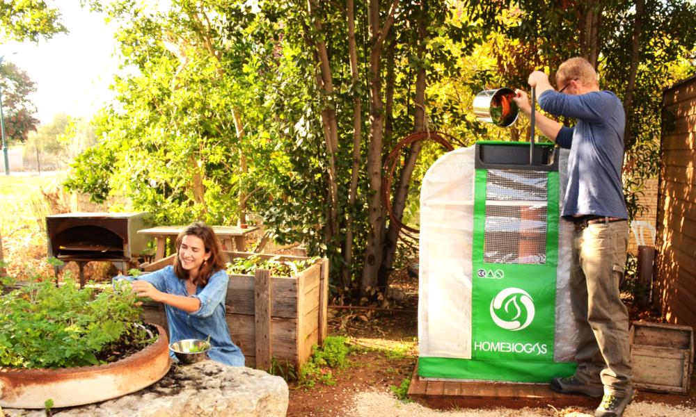 Avec HomeBiogas, on peut transformer ses déchets en gaz de ville