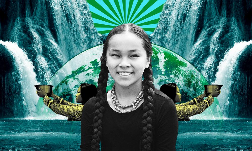 À 13 ans, cette Amérindienne se bat pour l'eau potable