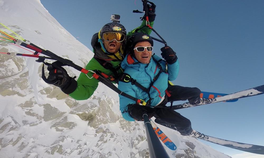 Détour par l'école où l'on skie en l'air