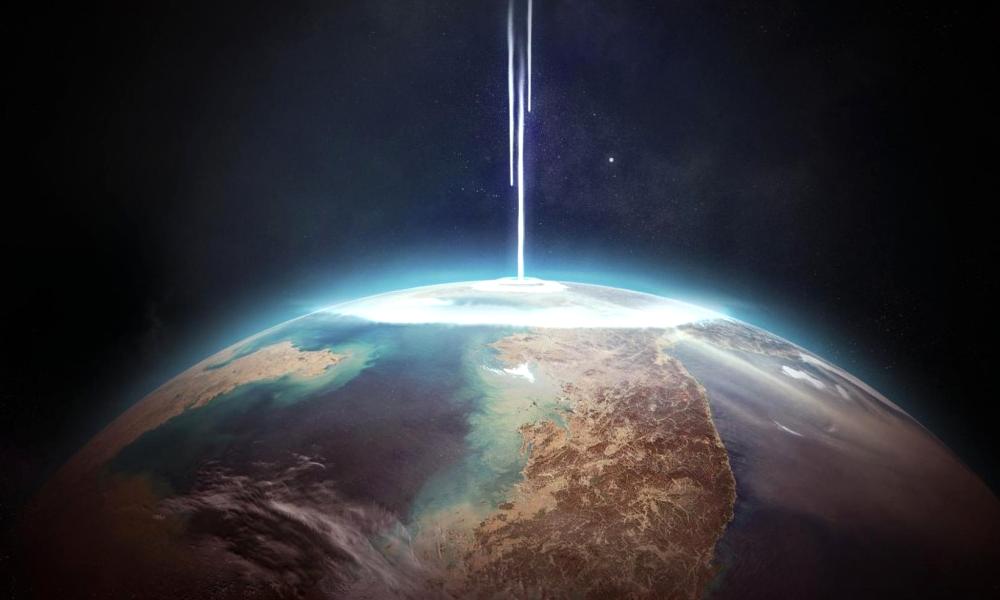Des astronomes imaginent un laser pour rendre la Terre invisible aux extraterrestres