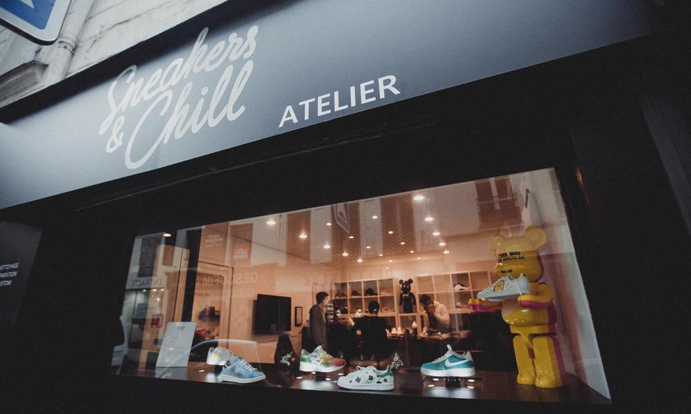 Dingue, un cordonnier pour sneakers vient d'ouvrir à Paris