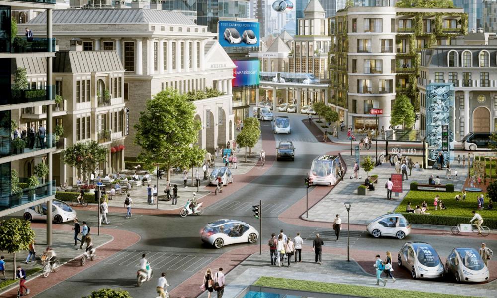 Moins de bouchons et plus d'espaces verts, voilà ce que va changer la voiture autonome