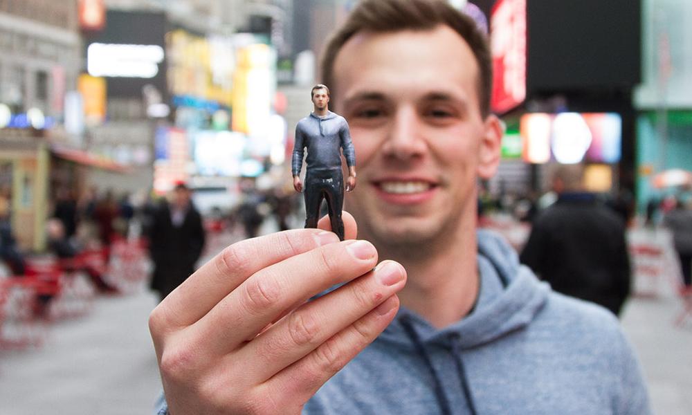 Pour Noël, on peut imprimer une figurine à son effigie en 3D pour 40$
