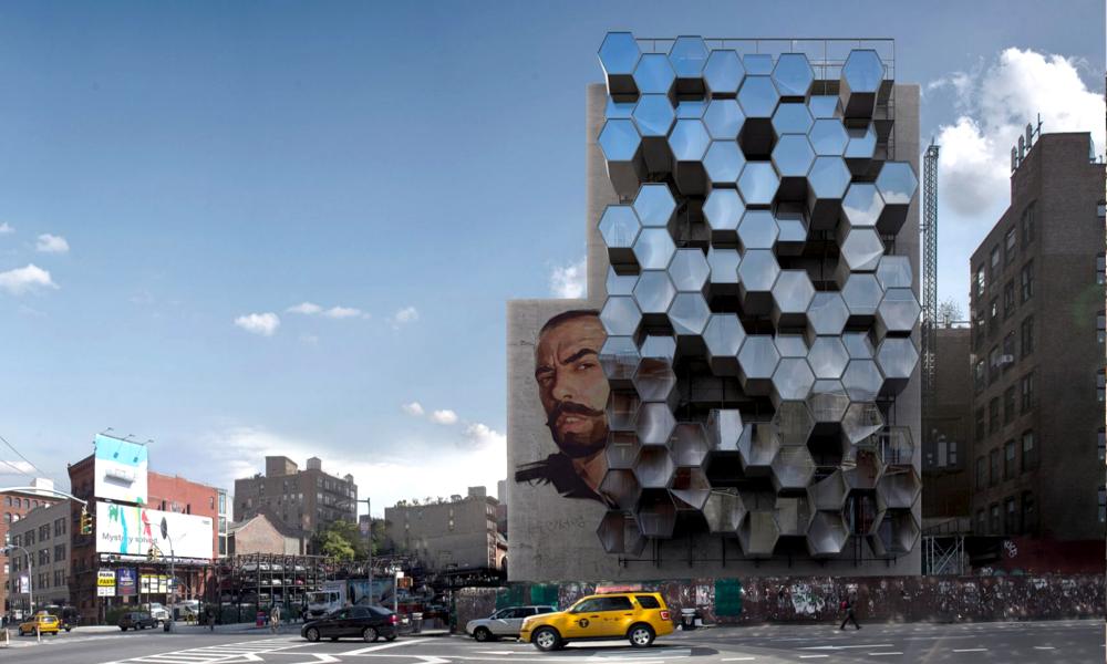 Pour loger les SDF cet hiver, New York imagine des ruches imprimées en 3D