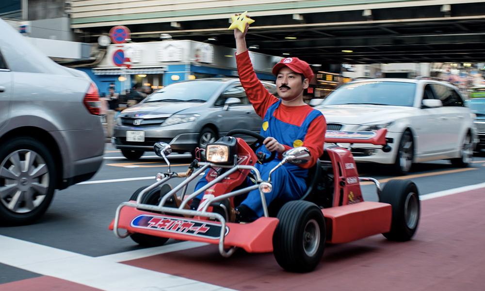 Jouer à Mario Kart, c'est bon pour la conduite