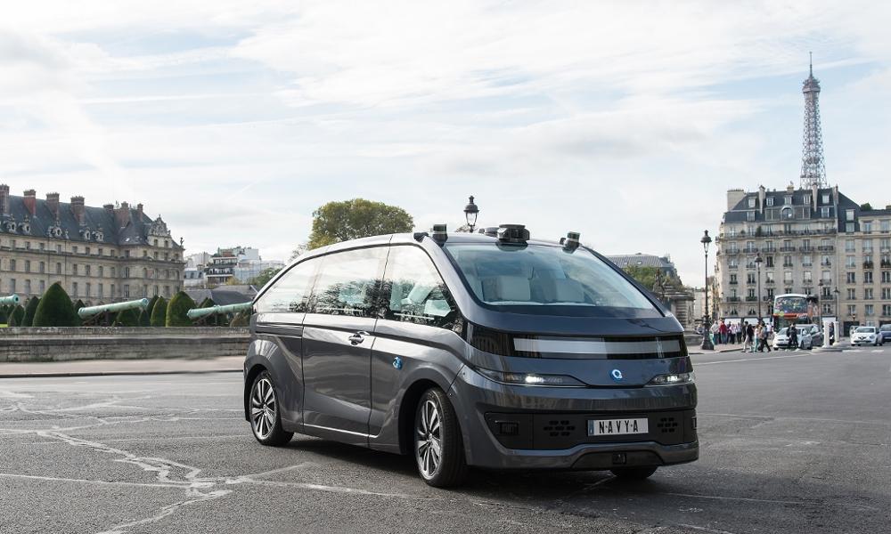 Comment Paris est devenu le champion national des véhicules autonomes