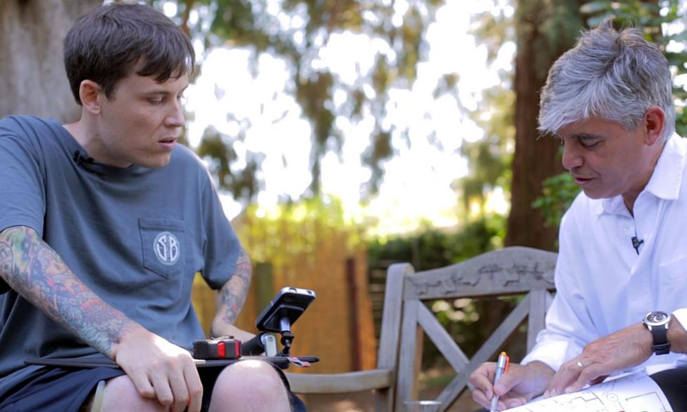 Tétraplégique, il invente une tiny house pour les handicapés