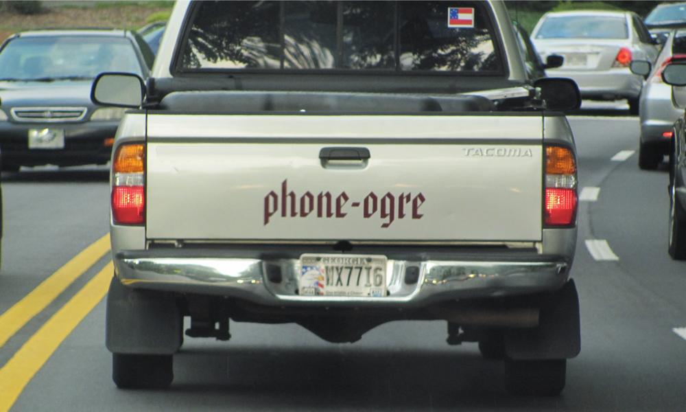 Quand votre plaque d'immatriculation devient un numéro de téléphone