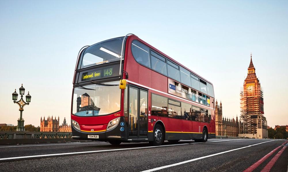 Oh my god, maintenant les bus de Londres carburent au café