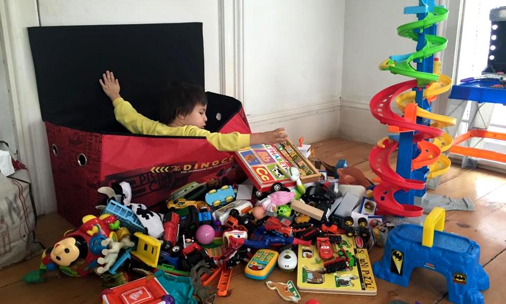 Selon une étude, les enfants les plus heureux sont ceux qui ont le moins de jouets