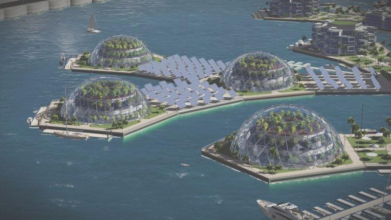 La première ville aquatique sera en Polynésie, donc française