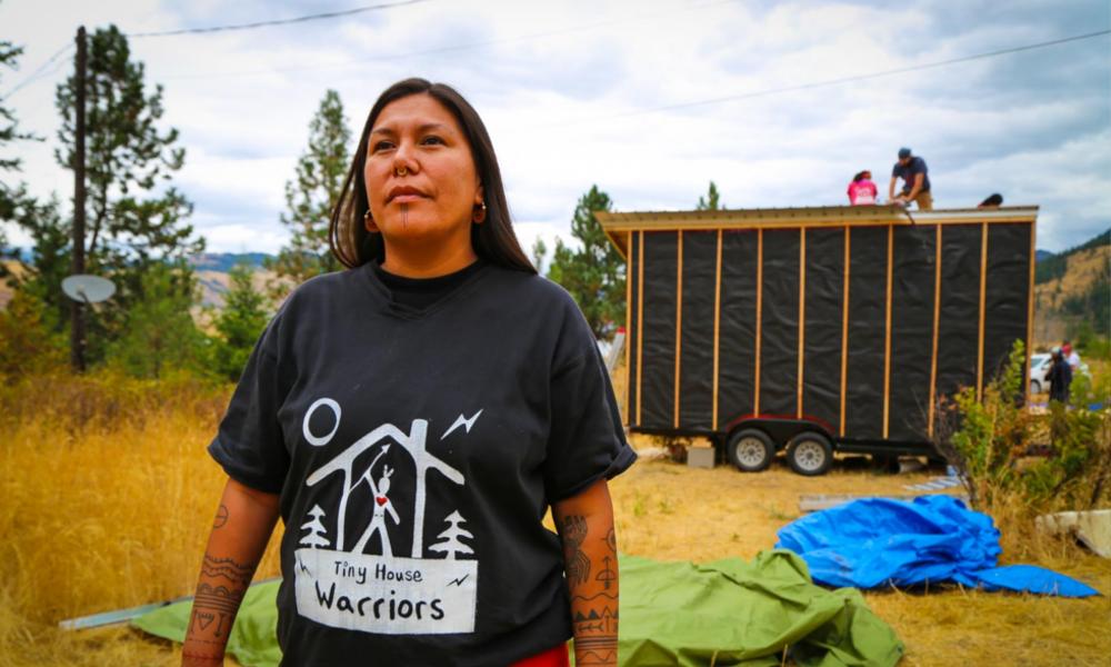 Ces Indiens construisent des tiny houses pour empêcher la construction d'un pipeline