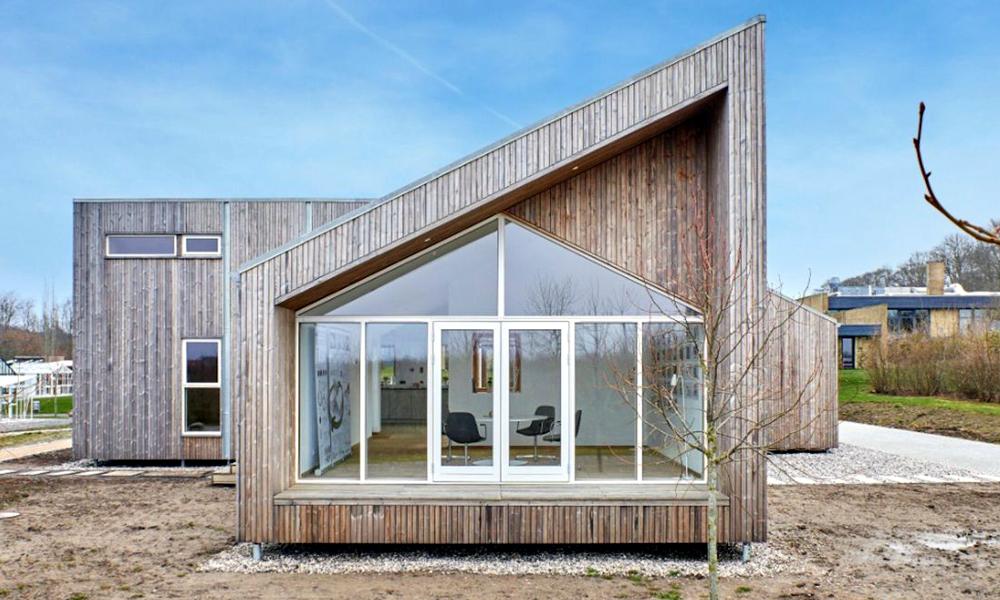 La première maison 100% bio vient d'être construite au Danemark