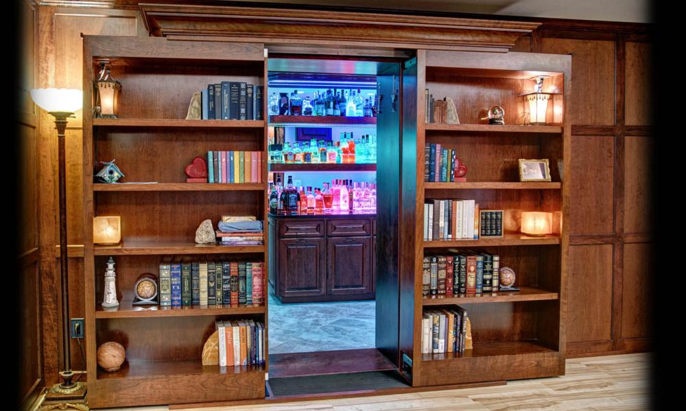 passage secret bibliothèque