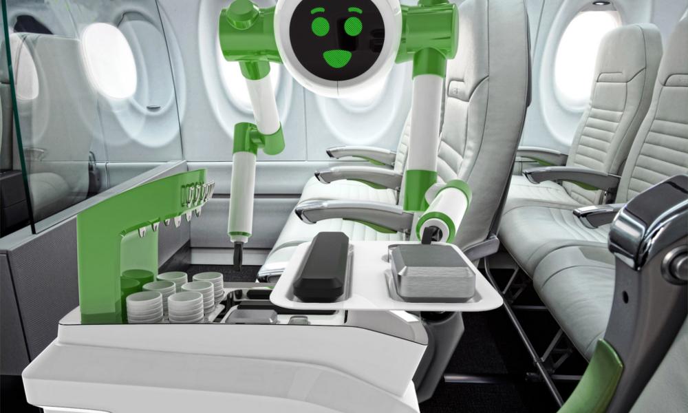 Le steward du futur sera sûrement un... robot